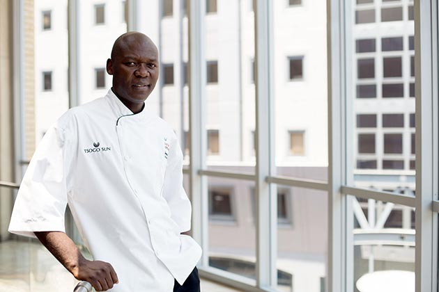 Tsogo Sun - James Khoza -President of SA Chefs Association