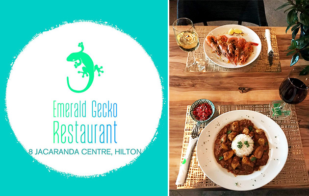 Emerald Gecko Restaurant, mouth watering food, seafood, meat, pizza in Hilton, Midlands, KwaZulu-Natal​, places to eat, family restaurant, dining in hilton